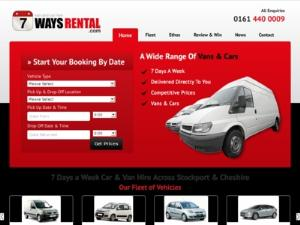7 Ways Car and Van Hire - Car Rental UK Directory