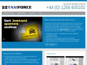 TaxiForce Online UK Taxis - Taxi UK Directory