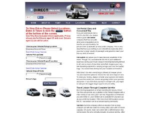 Direct Van Hire - Car Rental UK Directory