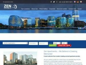 Zen Apartments Central London - Accommodation in UK Directory