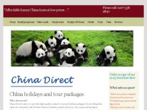 China Direct Travel - Search results Directory