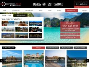 Pure Destinations - Travel agents UK Directory