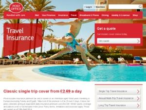 Post Office Travel Insurance - Travel Insurance UK Directory