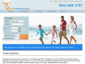Travel insurance cover - Travel Insurance UK Directory