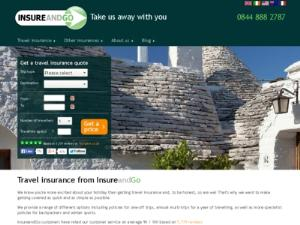 InsureandGo - Travel Insurance UK Directory