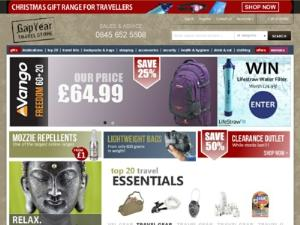 Travel Accessories Gear - UK shops for the traveler Directory