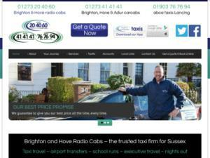 Brighton and Hove Radio Cabs  - Taxi UK Directory