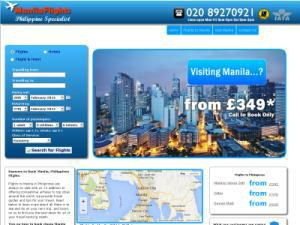 ManilaFlights  - Travel agents UK Companies Directory
