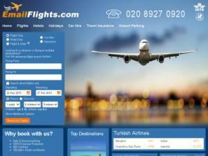Email Flights - Search results Directory