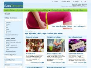 SpaDreams - Health and Wellnes - Tour Operators UK Companies Directory