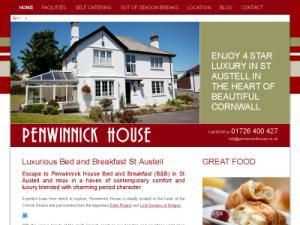 Penwinnick House BandB - Accommodation in UK Directory