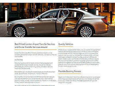 Global Transfers UK - Chauffeur Services UK Directory