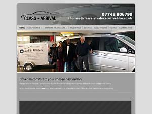 Class Arrival Executive Hire Ltd - Chauffeur Services UK Companies Directory