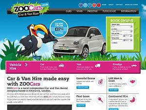 ZOOCars Car and Van Hire - Car Rental UK Directory