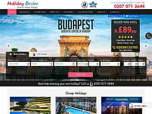 Holidaydesire Holiday Packages  - Travel agents UK Directory