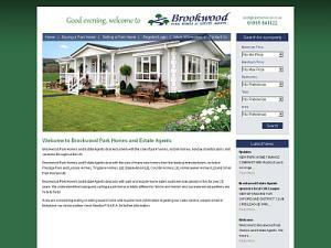 Brookwood Estate Agents Website on UK Travel Directory
