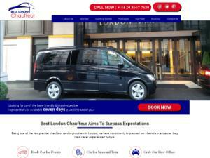 Best London Chauffeur - Chauffeur Services UK Companies Directory